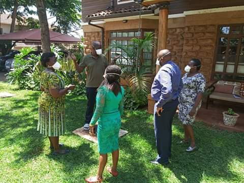 Lands CAS Gudeon Mungaro on self-quarantine tested COVID-19 by ministry official at his home