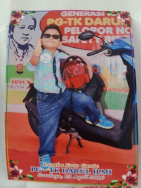 Pengenalan Safety Riding Sejak Dini - MPM ft ILB Jatim