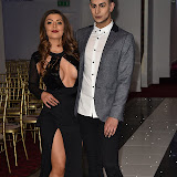 OIC - ENTSIMAGES.COM - Abi Clarke  - Towie and Junaid Ahmed - Channel 4 obsessed with my body  at the  Britz go Bollywood - Ark Royal Banquet Hall  in London 29th February 2016 Photo Mobis Photos/OIC 0203 174 1069