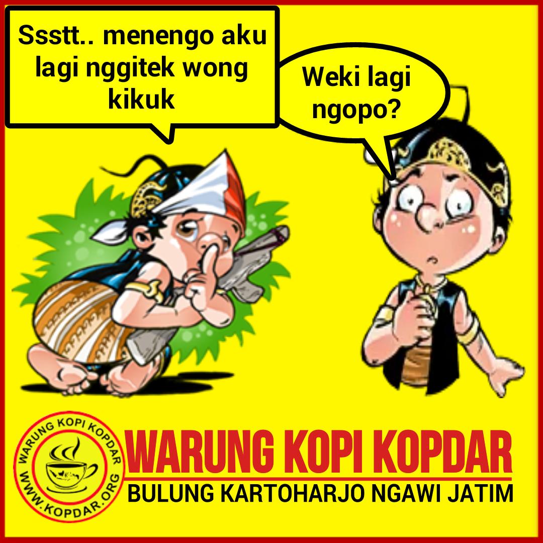Gambar Lucu Kartun Wayang - Update Status