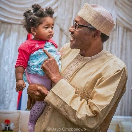 President Buhari Invites 10-Year-Old Kid Who Wrote Him An Open Letter (Photos)