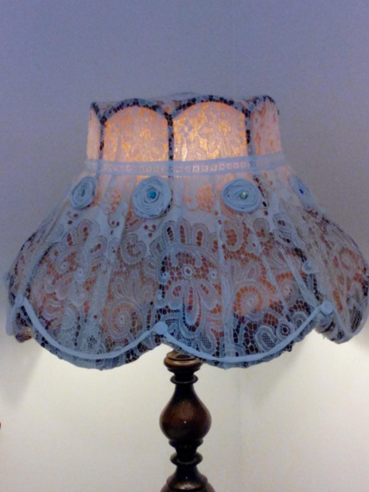koko kokoelma uskomattomia hintoja säästää Diy MaaritA: Uudelleen päällystetty lampunvarjostin