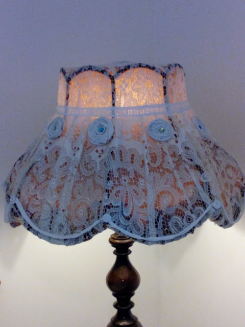 re-plated lampshade,