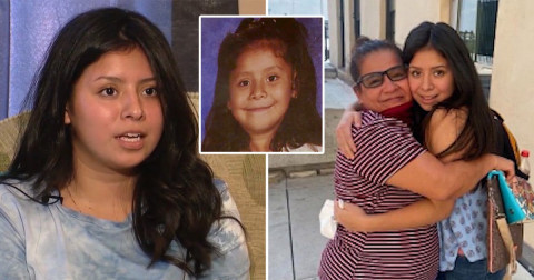 Woman 'abducted by father' when she was 6 reunites with her mother 14 years later
