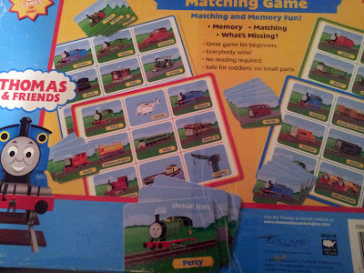 Thomas & Friends Memory Game Made in USA