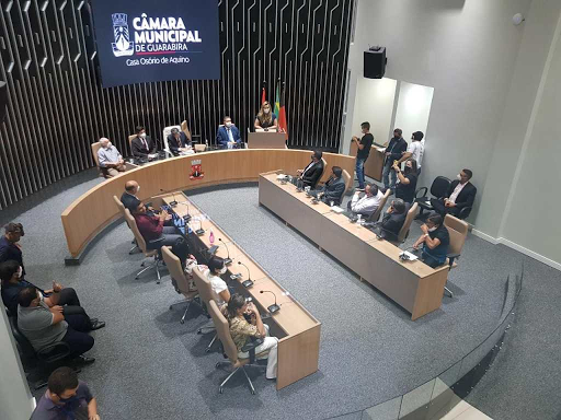 Confira: Foram definidos os líderes partidários na Câmara de Guarabira