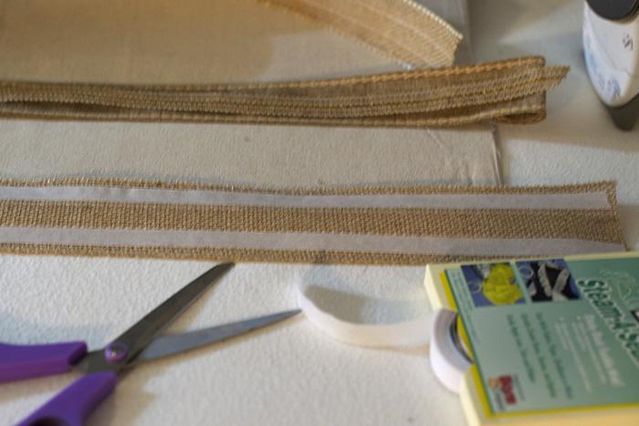 using steam a seam on ribbon