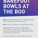 QLD Barefoot Bowls at the Boo 2015