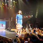 amazing fashion show at shibuya AX during the a-nation island festival in Shibuya, Tokyo, Japan