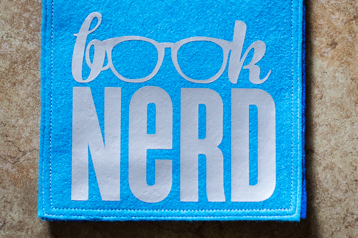 Book Nerd Kindle Cover Iron On