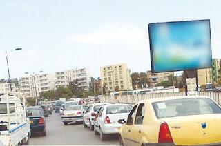 Guelma La ville étouffe sous le flux des véhicules