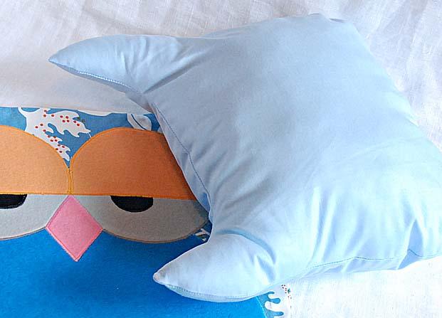 Сова-подушечка, мастер-класс