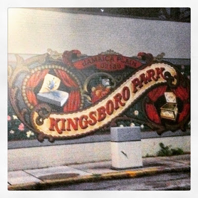 Kingsboro Park Mural in Jamaica Plain Boston