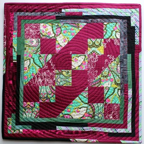 Jacob's Ladder Quilt Block by Kim Lapacek