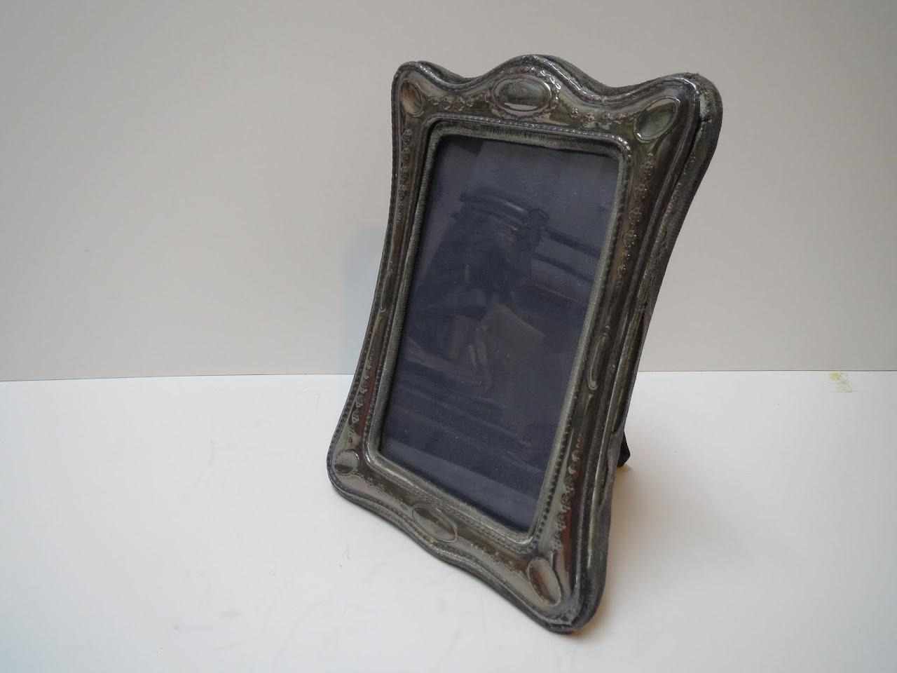 Antique Sterling Silver Frame