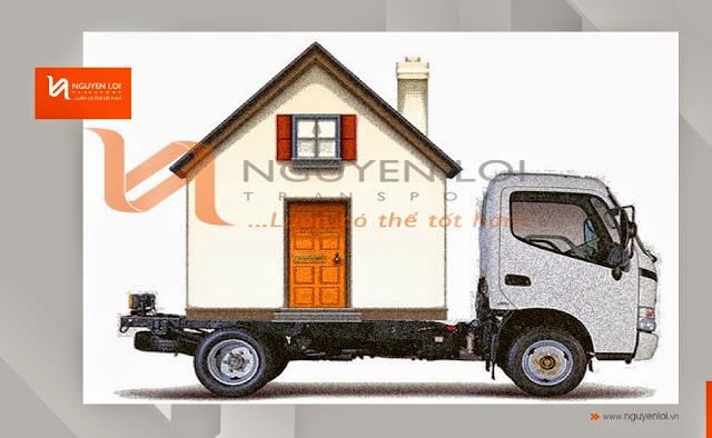 Vận chuyển nhà tại TPHCM