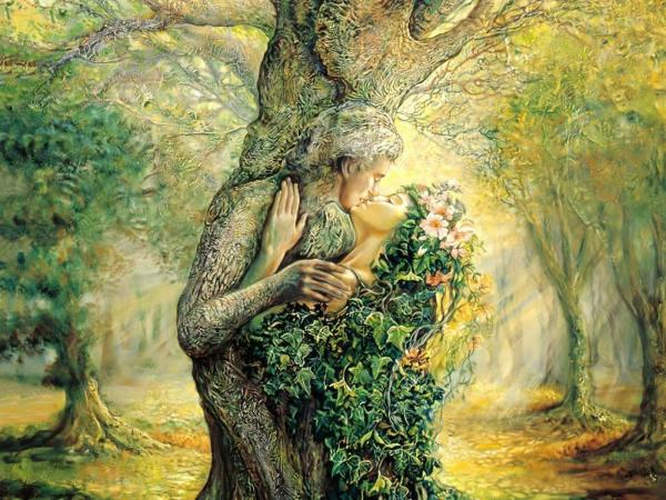 Kiss Of Dryads, Green Witches