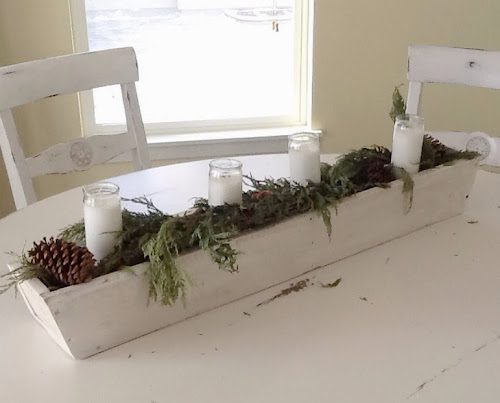 Pallet box diy, white box