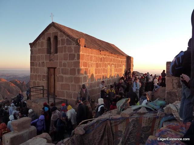 chapel of the holy trinity, mt. sinai