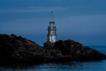 Lighthouse in Achtopol Bulgaria