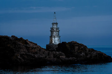 Lighthouse in Achtopol Bulgaria
