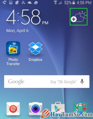 Hướng dẫn sử dụng điện thoại Samsung Galaxy S6 - Hình 19