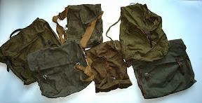 Tassen van Duitse soldaat. Mee teruggenomen door die soldaat uit Russisch krijgsgevangenkamp. http://www.secondworldwar.nl/enschede/