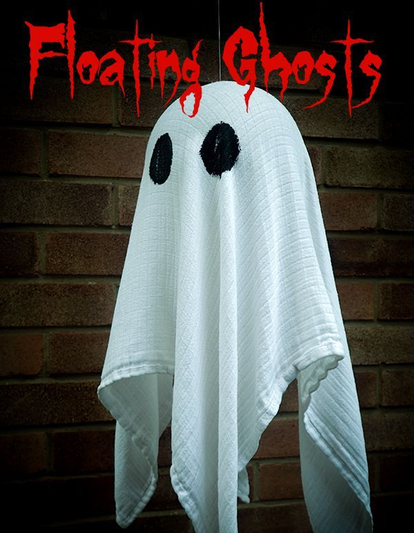 Cool outside halloween ghost decorations ideas fashion qe for Ghost decoration ideas