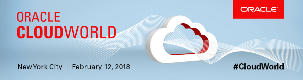 Cloudworld 2018 blog