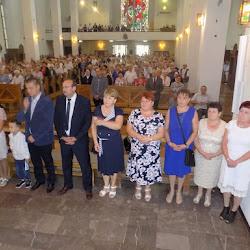 dożynki parafialne - 27 sierpnia 2017 na Mszy św. o godz. 9,30, Mszy św. przewodniczył ks. probo
