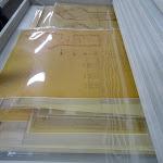 Archives de Paris : salle de stockage (plans)