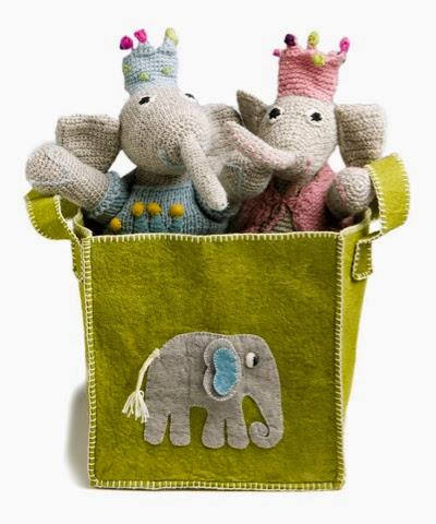 En Gry Sif elephant basket