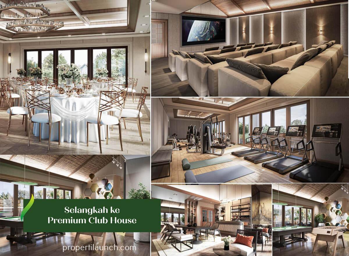 Premium Club House Kota Podomoro