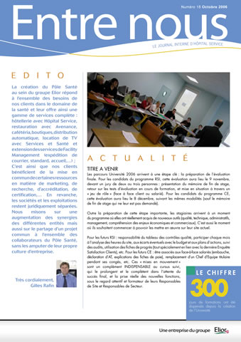 magazine Entre nous -Toomuch