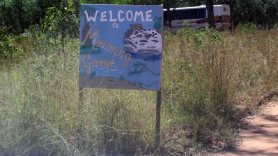 MG Welcome Sign