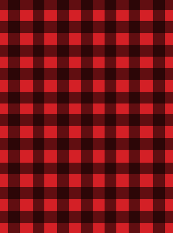 buffalo plaid print at GingerSnapCrafts.com