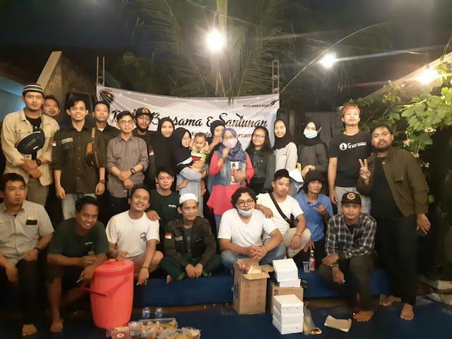 Forum Jurnalis Bekasi bersama KPA Cempala Helat Santunan Yatim dan Jompo