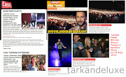 Tarkan at the Harbiye