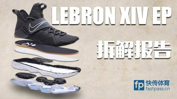 LeBron Anatomy Nike LeBron 14 Gets Cut Into Pieces