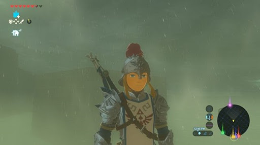 Kletterausrüstung Zelda Breath Of The Wild : Wenn es in zelda breath of the wild weiter so oft regnet werde
