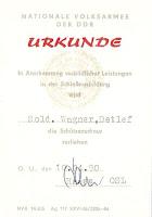 487 NVA Schnür Land- oorkonden