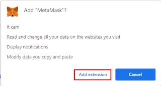 "Klik Tombol ""Add Extension"""