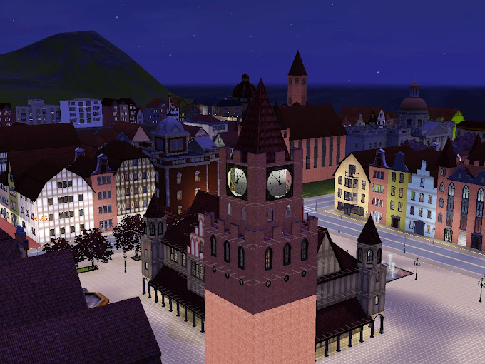 sims3 night city