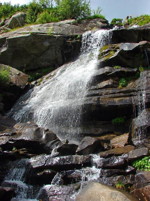 Как фотографировать водопады - Карпаты. Прутский водопад.