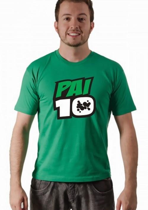 Inspiração: ideia para camiseta do dia dos pais