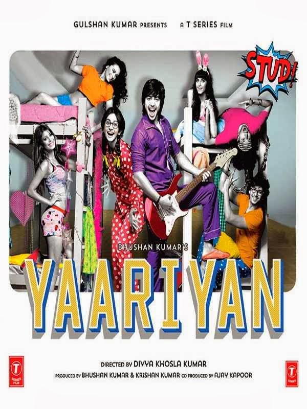 Poster Of Hindi Movie Yaariyan (2014) Free Download Full New Hindi Movie Watch Online At Alldownloads4u.Com