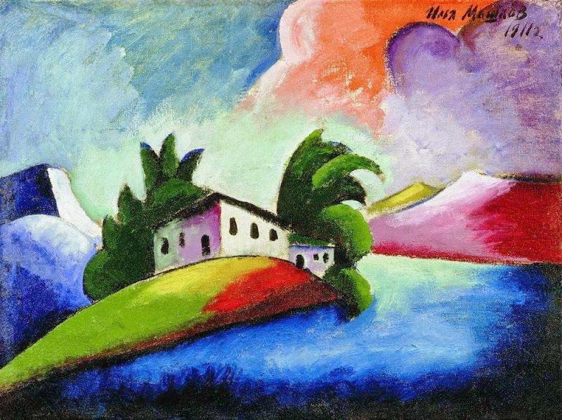 Ilya Mashkov - Landscape