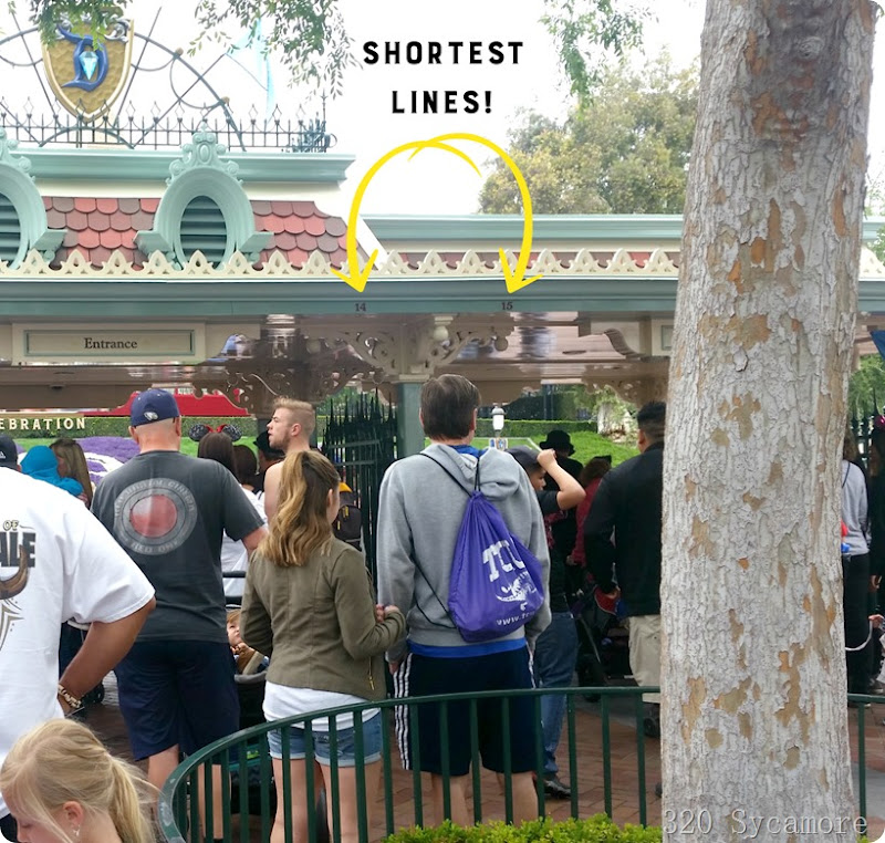 shortest lines at disneyland