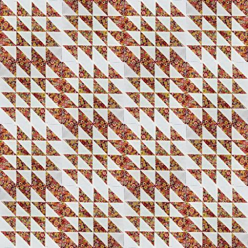 16 HST quilt sampler tutorial