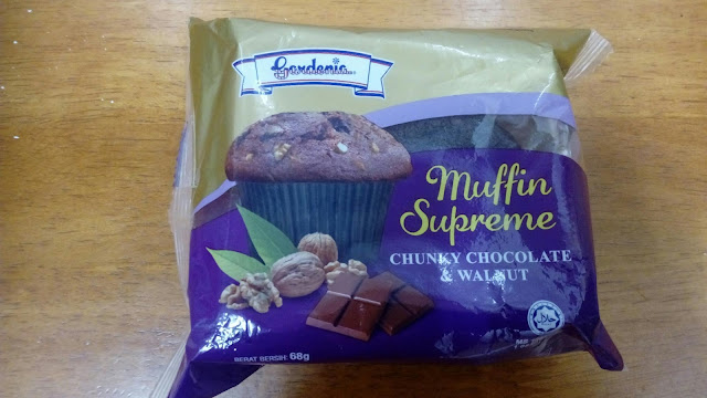 Gardenia Muffin Supreme : Chunky Chocolate & Walnut